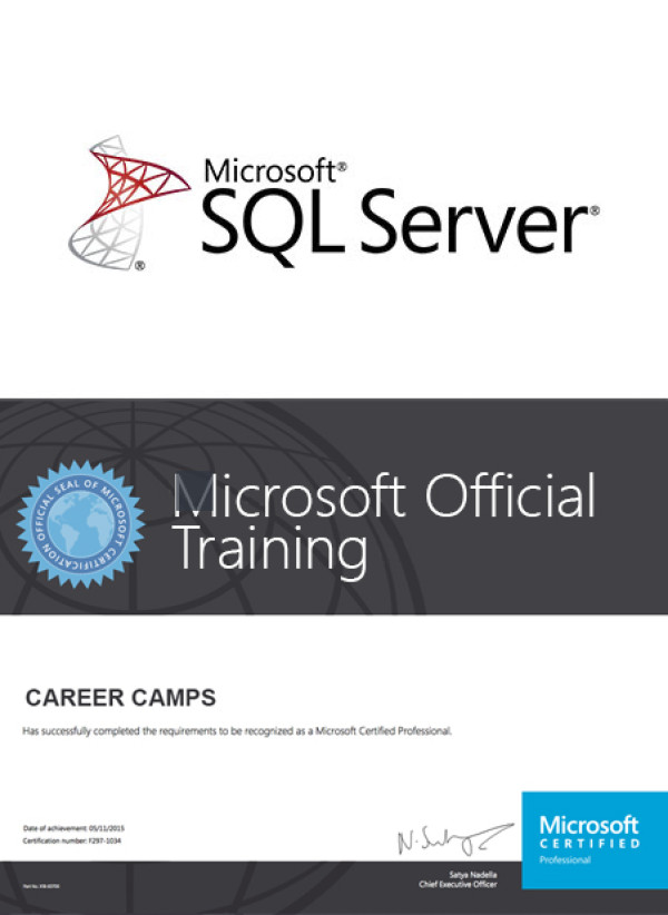 Mcsa Sql 2016 Bi Development With Mcse Data Mgmt Analytics Bi Reporting Certification Camp